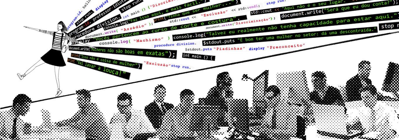 Mulheres enfrentam preconceito e isolamento em cursos de computacão