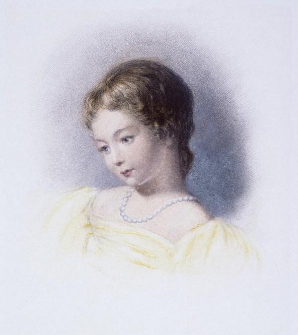 Augusta Ada Byron quando criança.