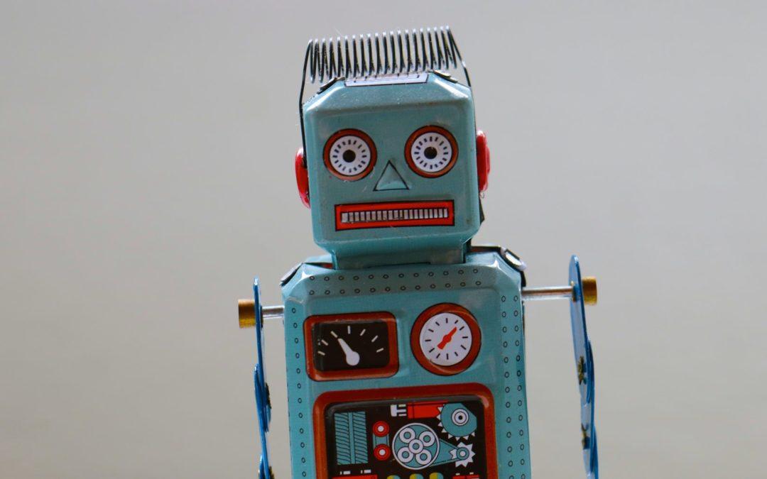 Imagem de um robô