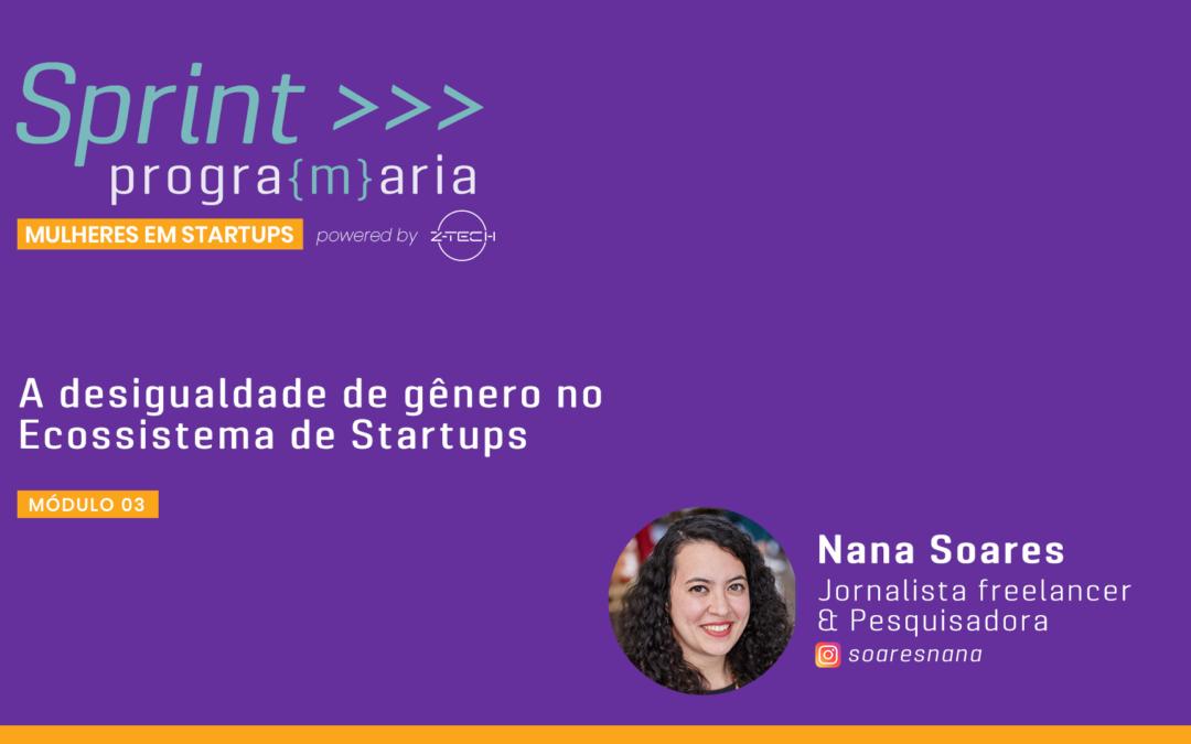 Desigualdade de Gênero no Ecossistema de Startups