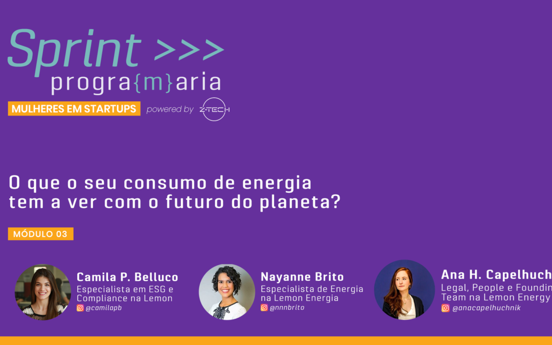 O que o seu consumo de energia tem a ver com o futuro do planeta? (e o que mais você pode fazer a respeito)