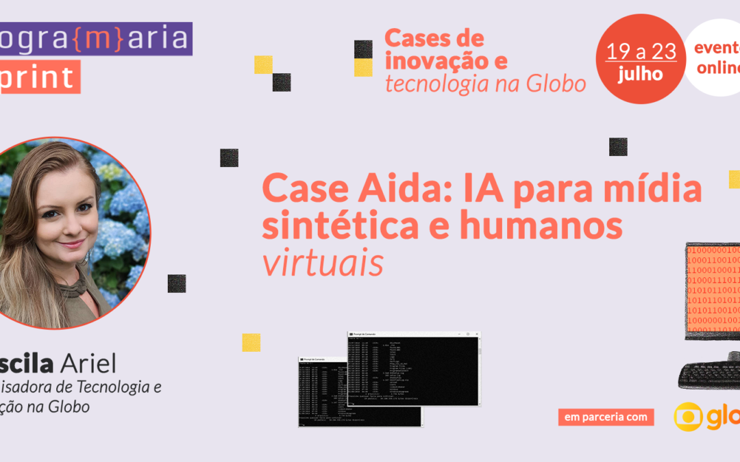 Case Aida: IA para mídia sintética e humanos virtuais